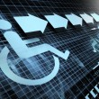 Accessibility  symbol - Stock Photo