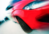 Car speed — Stock Photo