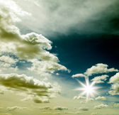 Gökyüzü arka plan — Stok fotoğraf