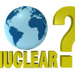 Stock Photo: Nuclear question