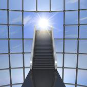 Toward the light — Stock Photo