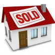 Royalty-Free Stock Photo: House sold