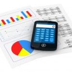Análisis financiero — Foto de Stock