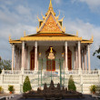 royal palace complex, phnom penh — Stock Photo