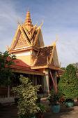 Palazzo reale complesso, phnom penh — Foto Stock
