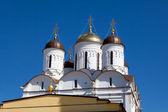 Iglesia de la natividad del monasterio de pafnutiyev — Foto de Stock