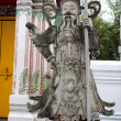 Stone statue of Farang Guard — Stock Photo