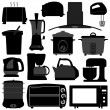 Royalty-Free Stock Imagen vectorial: Kitchen Appliances Electronic Electrical Equipment Tool