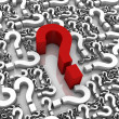 Question Marks — Stock Photo #5633851
