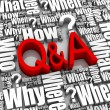 Questions and Answers — Stock Photo #5633878