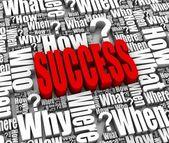 Success Strategy — Stock Photo
