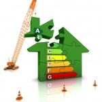 Energy Efficient Home — Stock Photo