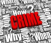 Crime — Stock Photo