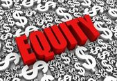 Equity — Stock Photo
