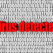 Virus Detected - Stock Photo
