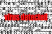 Virus Detected — Stock Photo