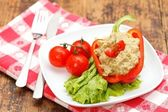 Eggplant salad — Stock Photo