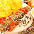 Traditional romanian meal — Stock Photo #5491590