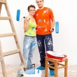 Home renovation — Stock Photo