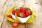 Healthy diet with fruits — Stock Photo