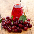 Cherry drink — Stock Photo #6461456