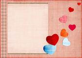 Aşk kartı — Stok fotoğraf