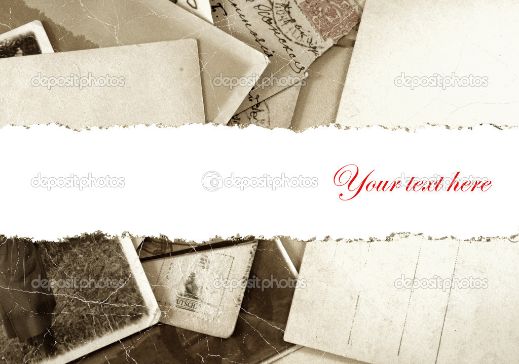 Vintage photo  background with place for text  — Stock Photo #6697846