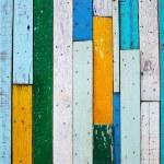 Vintage colorful wood background — Stock Photo
