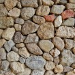 Colorful stone wall background — Stock Photo