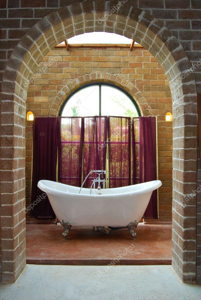 Interno del bagno depoca — foto stock © zmkstudio #5392034