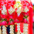 Stock Photo: Flower garlands for ceremony