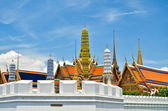 Golden Buddha Temple in Grand Palace — Stock Photo