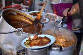 Příprava thajská jídla — Stock fotografie