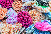 Variety of colorful hair accessories — Stock Photo