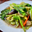 Stir fried variety of vegetables — Stock Photo
