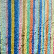 Stock Photo: Vintage old colorful fabric texture