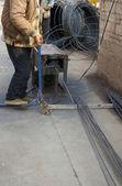 Cutting wire — Stockfoto