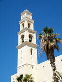 Jaffa Tower of St Peter's Church 2011 — Stock Photo