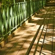 Royalty-Free Stock Photo: Footbridge