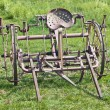Historic agricaltural implement — Stock Photo #5879919