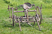 Historic agricaltural implement — Stock Photo