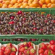 Cherry and fruits — Stock Photo #6050041