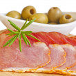 Royalty-Free Stock Photo: Ham of Spain Lomo