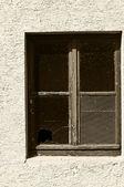 Old window — Stockfoto