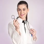 若い女性の医者 — ストック写真