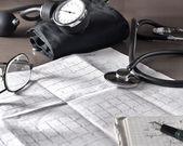 Doctor's table — Stockfoto