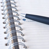 Organizer and pencil — Stock Photo