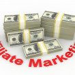 Affiliate marketing  — Stock Photo