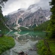 Foto Stock: Lago di Braies
