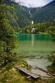 Lago di anterselva — Foto de Stock